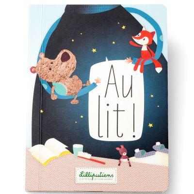 Livre bébé Au lit  par Lilliputiens