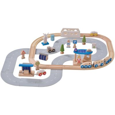 Set de train Ville Ecologique  par EverEarth