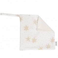 Doudou attache sucette Stars