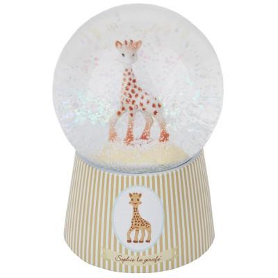 boule neige musicale sophie la girafe beige trousselier. Black Bedroom Furniture Sets. Home Design Ideas