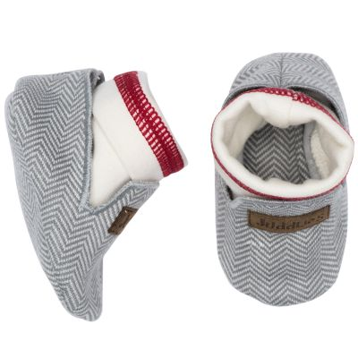 Chaussons Cottage gris (0-3 mois) Juddlies