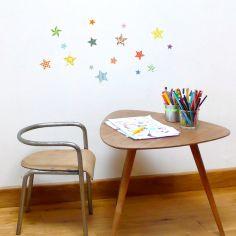 Sticker petites étoiles