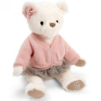 Peluche My First ours rose (25 cm) Mamas and Papas