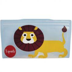 Lot de 2 pochettes à goûter Lion