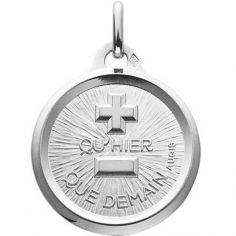 Médaille d'Amour L'originale (or blanc 750°)