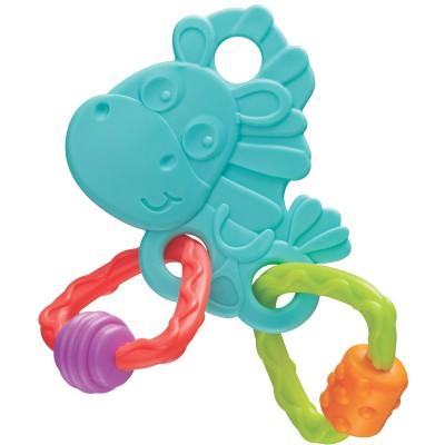 Anneau de dentition Clopette vert d'eau  par Playgro
