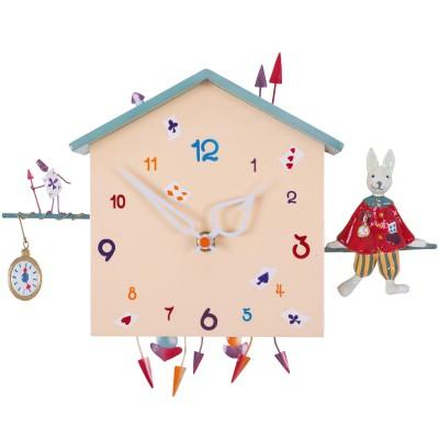 Horloge Alabonneheure Le Lapin  par L'oiseau bateau