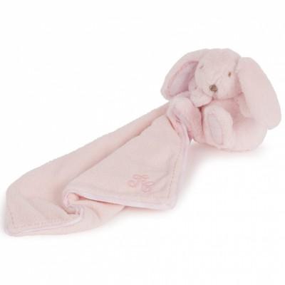 Doudou Augustin le lapin rose (24 cm) Tartine et Chocolat