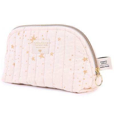 Trousse de toilette Holiday Gold stella Dream pink  par Nobodinoz