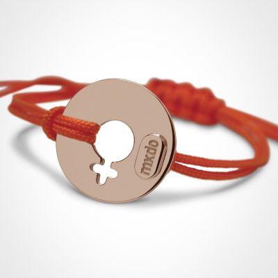 Bracelet 'Disco' Fille (or rose 750°)  par Mikado