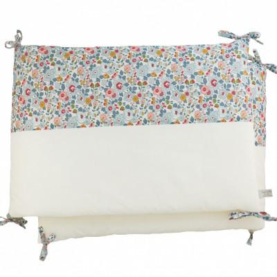 tour de lit en percale de coton liberty betsy 40 x 180 cm. Black Bedroom Furniture Sets. Home Design Ideas