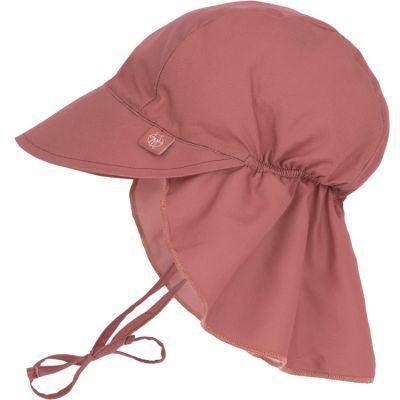 Casquette anti-UV bois de rose (3-6 mois)