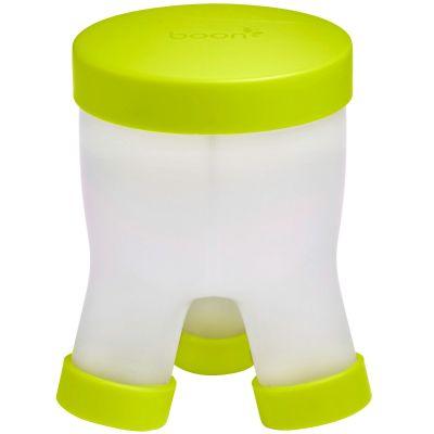 Boîte doseuse de lait Tripod vert  par Boon