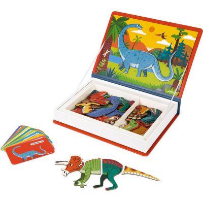 Jeu magnétique Magneti'Book Dinosaures Janod