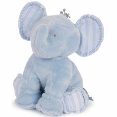 Peluche Ferdinand l'éléphant ciel (25 cm)