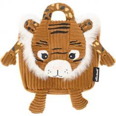 Sac à dos bébé peluche Speculos le tigre