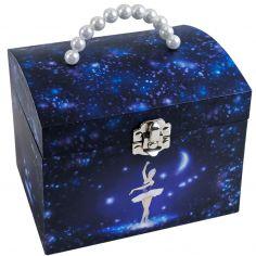 Boîte à bijoux musicale phosphorescente Danseuse étoile