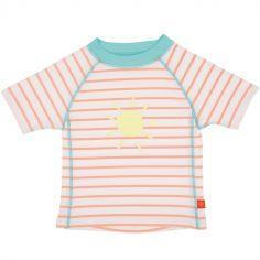 Tee-shirt de protection UV à manches courtes Splash & Fun marin pêche (36 mois)