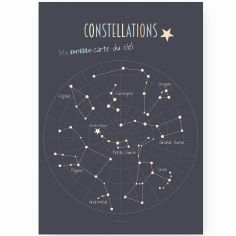 Affiche A2 Constellations