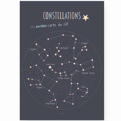 Affiche A2 Constellations  par Lutin Petit Pois