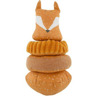 Pyramide en tissu culbuto renard Mr. Fox  par Trixie