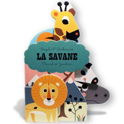 Mini livre La Savane  par Marcel et Joachim