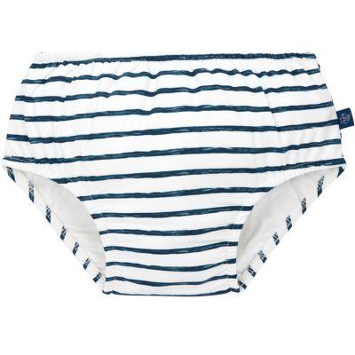 Maillot de bain couche rayé bleu (18 mois)  par Lässig