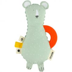 Doudou de dentition ours Mr. Polar Bear