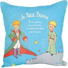 Coussin Le Petit Prince 2 personnages (45 x 45 cm)