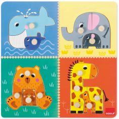 Puzzle à encastrement Mamans et bébés (14 pièces)
