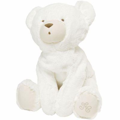 Peluche géante écru Prosper l'ours polaire (60 cm)  par Tartine et Chocolat
