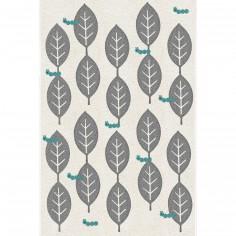 Tapis feuilles by Shinzi Katoh (135 x 190 cm)
