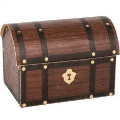 Lot de 8 contenants à confiserie Coffre au trésor Pirate