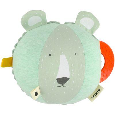 Balle d'activités ours Mr. Polar Bear  par Trixie