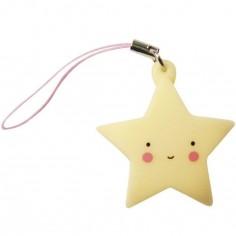 Charm étoile jaune