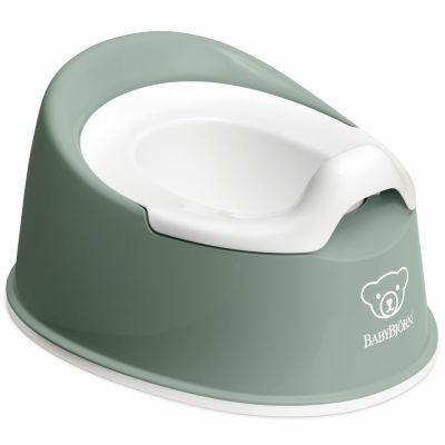Pot bébé Smart vert profond et blanc  par BabyBjörn