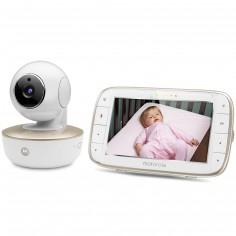 Moniteur bébé vidéo Wi-Fi avec écran 5.0 et caméra portable