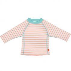Tee-shirt de protection UV à manches longues Splash & Fun marin pêche (36 mois)