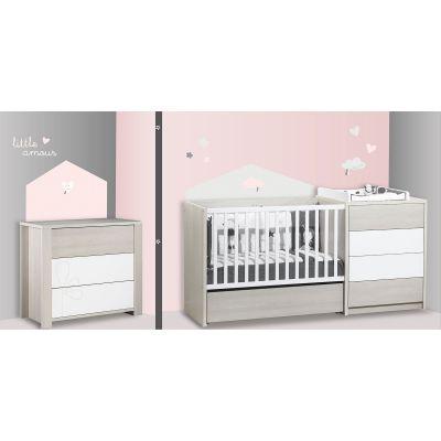 Stickers Home Lilibelle (100 x 70 cm) Sauthon Baby Déco