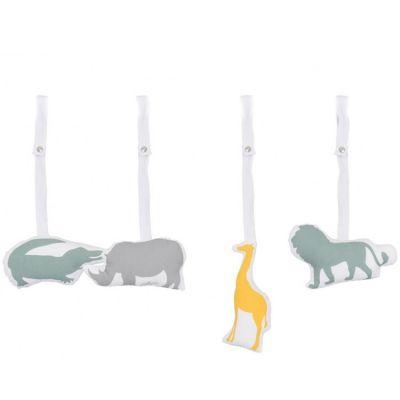 Jouets pour arche d'activités Safari (4 pièces)  par Jollein