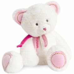 Peluche Ours rose Attrape-rêves (40 cm)