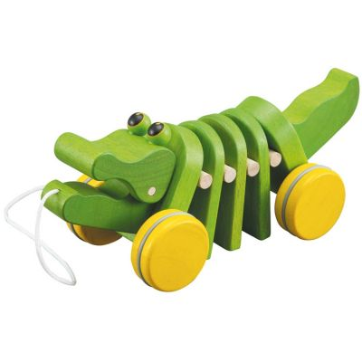 Alligator à tirer Plan Toys