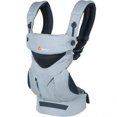 Porte bébé 360 Cool Air Mesh bleu chambray