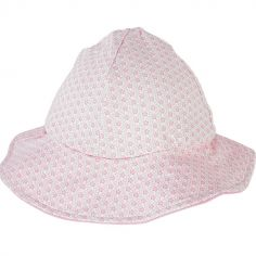 Chapeau été Cocon Girl rose clair (3-6 mois)