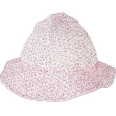 Chapeau été Cocon Girl rose clair (3-6 mois)  par Archimède