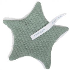 Doudou attache sucette Pure mint (15 x 15 cm)
