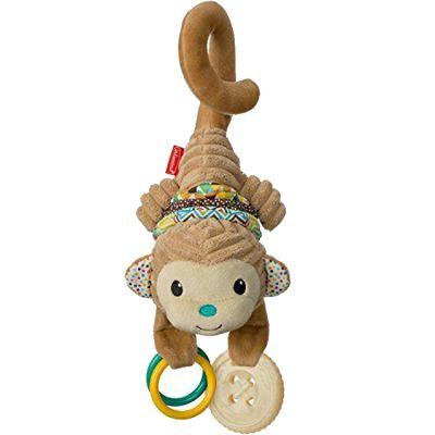 Peluche musicale singe (38 cm) Infantino