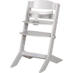 Chaise haute évolutive Syt gris clair