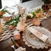 Marque places Folk à fleurs (10 pièces)  par Arty Fêtes Factory
