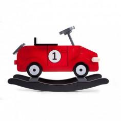 Ma première voiture à bascule rouge